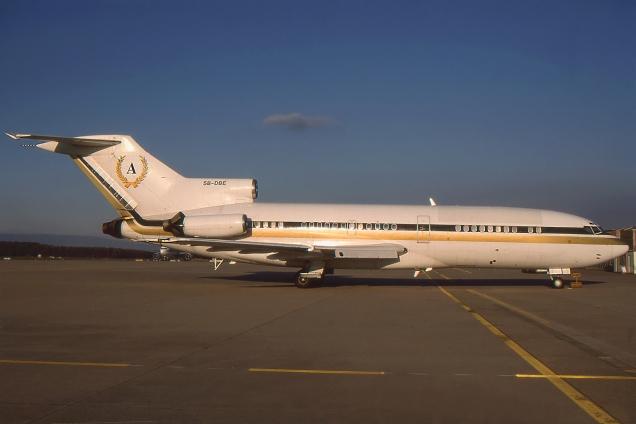 Boeing 727-100 - 5B-DBE - Genève GVA/LSGG Décembre 1995 - Photo copyright: Gilles Brion