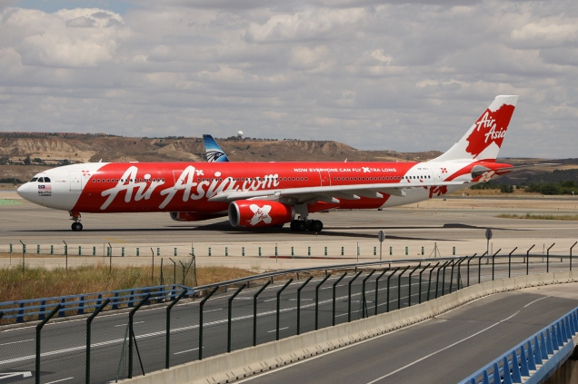 A330-303 - Air Asia X (op for Conviasa) - 9M-XXJ - Madrid MAD/LEMD - 16.06.2015 - Photo copyright: Gilles Brion