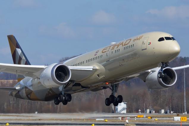 Boeing 787-9 Dreamliner - A6-BLA - Zurich ZRH/LSZH 12.03.2015 - Photo: Remo Garone
