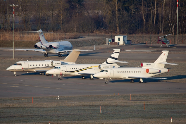 Bizjets - Zurich ZRH/LSZH 07.03.2015 - Photo: Remo Garone