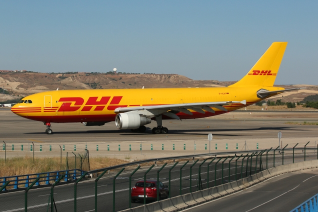 A300F - DHL - D-AEAT - Madrid MAD/LEMD - 17.06.2015 - Photo copyright: Gilles Brion