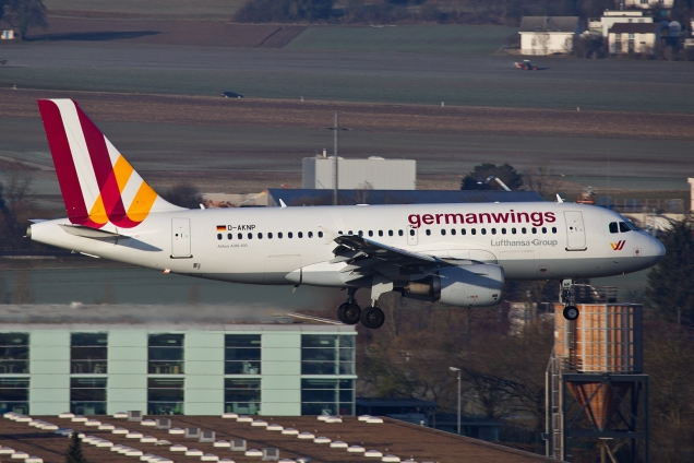 A319 - Germanwings - D-AKNP - Zurich ZRH/LSZH 07.03.2015 - Photo: Remo Garone