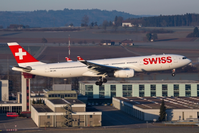 A330-300 - Swiss - HB-JHL - Zurich ZRH/LSZH 07.03.2015 - Photo: Remo Garone