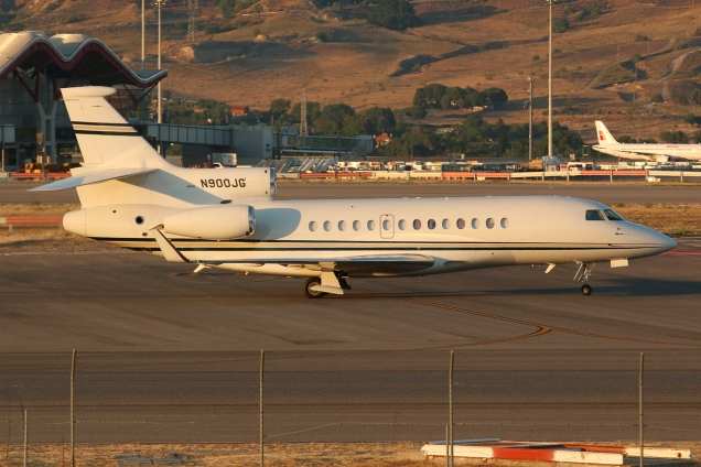 Dassault Falcon 7X - N900JG - Madrid MAD/LEMD - 17.06.2015 - Photo copyright: Gilles Brion