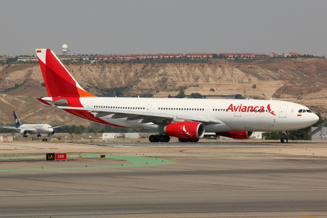 A330-200 - Avianca - N941AV - Madrid MAD/LEMD - 28.06.2015 - Photo copyright: Gilles Brion