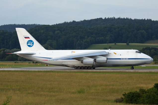 Antonov 124 - RA-82038 - Russian Air Force - Zurich ZRH/LSZH 17.06.2015 - Photo: Remo Garone